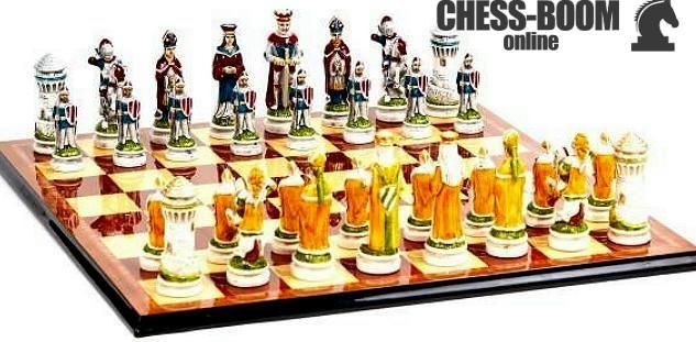 Игра в шахматы онлайн с настоящими шахматистами